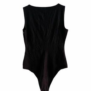 Reformation Sleeveless Bodysuit Black B710